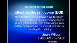 Investing Terms in Real Estate (GPI, EGI)