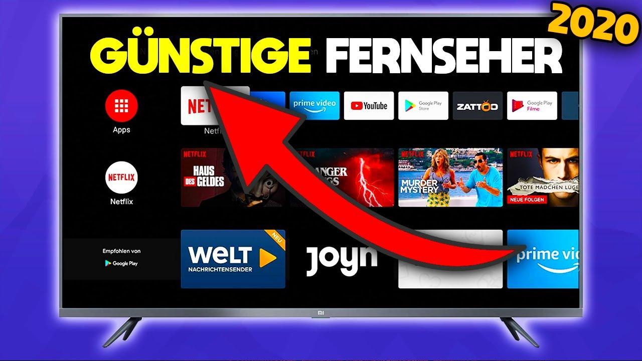 Günstige Fernseher 2020 ⌨️ 4K | Welchen Fernseher kaufen ...