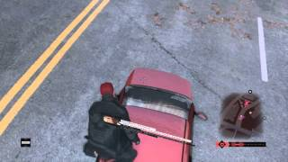 Watch Dogs car glitch -PS4 Gameplay