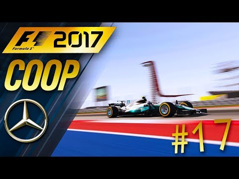 F1 2017 [FR] Carrière Coop #17 - Let pass for the championship!