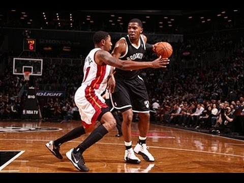 Joe Johnson Goes Off for 22 Points in the 1st Quarter!