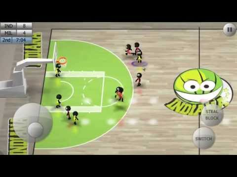 Скачать Stickman Basketball FULL 13 на андроид