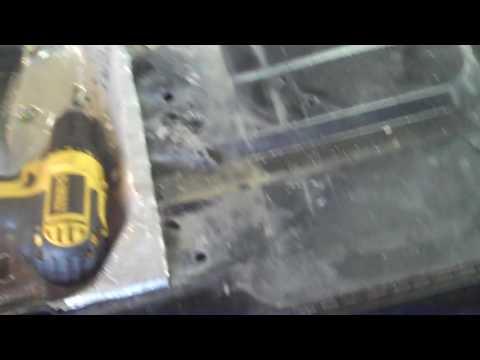Repairing the seat base on a 2012 polaris Ranger