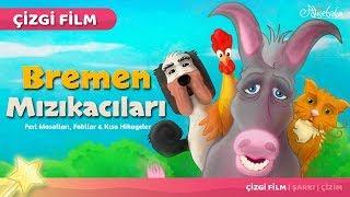 Bremen Mızıkacıları Çizgi Film Türkçe Masal 2 | Adisebaba Çizgi Film Masallar