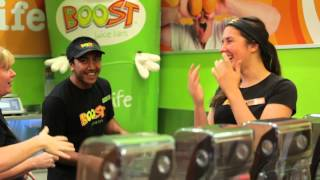 Narell Hall from Boost Juice #loveyourwork