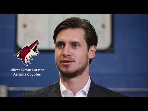 Oliver Ekman-Larsson opens up on up playing in the NHL