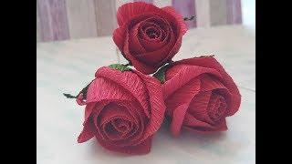 Розы за пару минут своими руками DIY Mellas