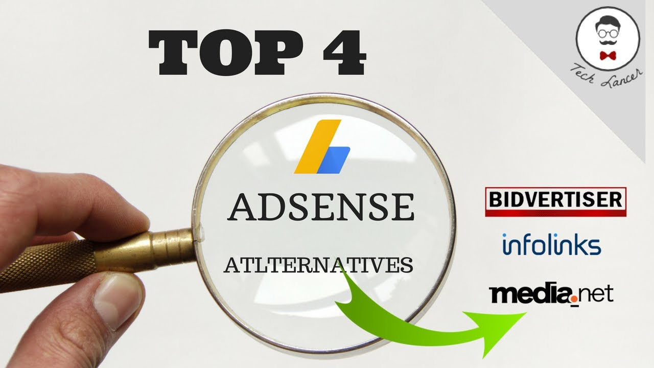 Top 4 Adsense Alternatives 2017 Best Paying Ad Networks Than