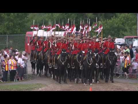 Royal Canadian Mounted Police Sunset Ceremony
