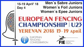 Day 04 2018 European fencing championships U23 - Blue