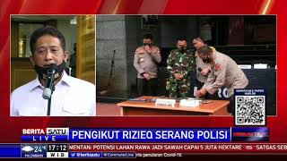 Polda Metro Tegaskan Penyerangan dari Laskar FPI Tidak Dikarang, Terdengar di Voice Note