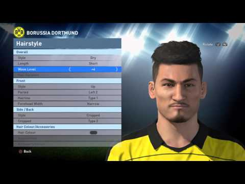 Edit Face And Data Base Ilkay Gundogan Pes 2016 Ps4