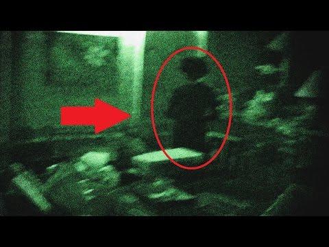 Призраки снятые на камеру. Подборка страшных видео