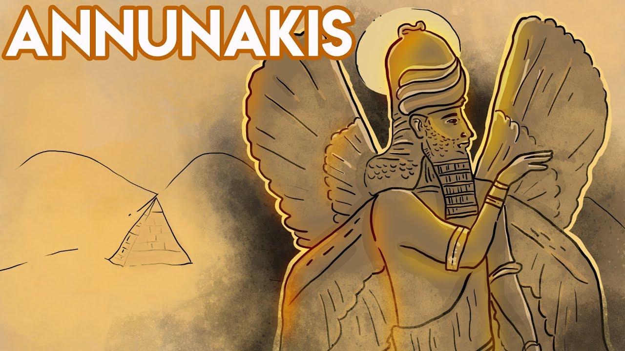 Los ANUNNAKIS: ¿fueron dioses? | Draw My Life