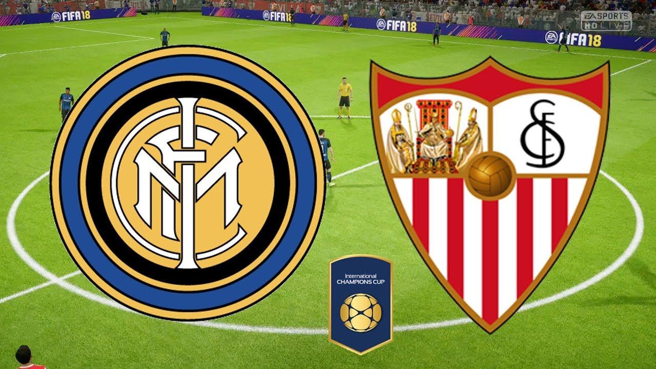 International Champions Cup 2018 - Inter Milan Vs Sevilla - 07/08 ...