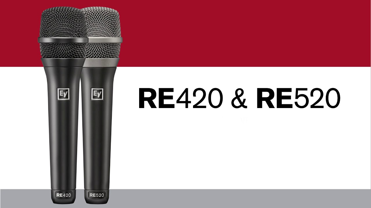 re series wired live performance microphones by electro u2011voice ev mic wiring diagram d767 [ 1280 x 720 Pixel ]