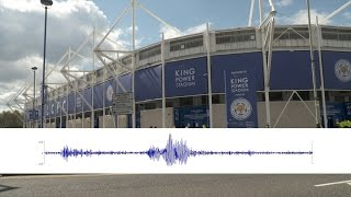 Measuring Earthquakes by Leicester City Fans