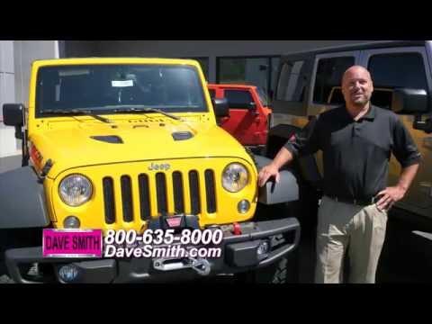 Custom Jeep Wrangler Unlimited Gaboon Edition: Dave Smith Motors