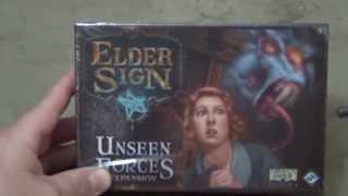 Elder Sign - Unseen Forces Unboxing