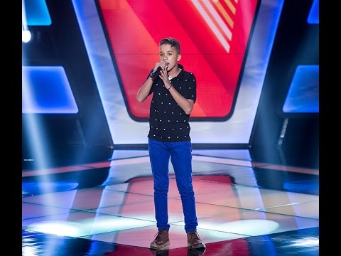 Matheus Quirino canta 'No dia em que eu saí de casa' no The Voice Kids - Audições|1ª Temporada