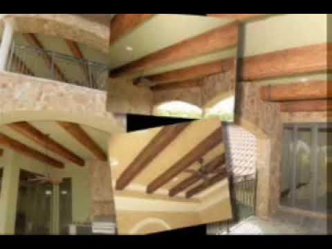Cathedral Ceiling Ideas | Installing Imitation Beams
