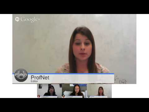ProfNet Hangout On Air: How Journalists and Bloggers Can Learn From Each Other
