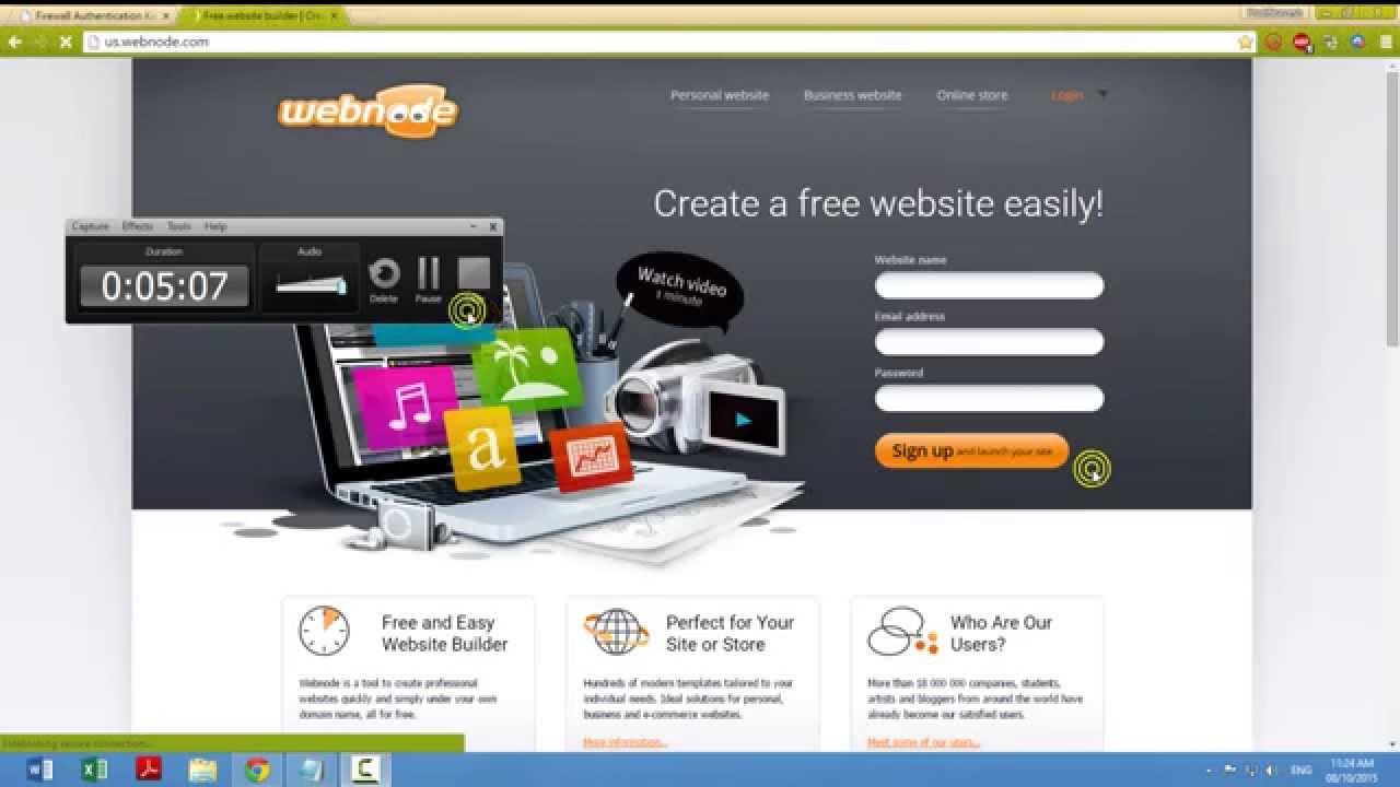 how to create website in 10 min webnode how to create website in 10 min webnode