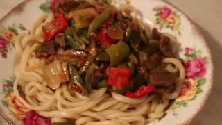 """Рецепт уйгурского блюда """"Лагман"""""""