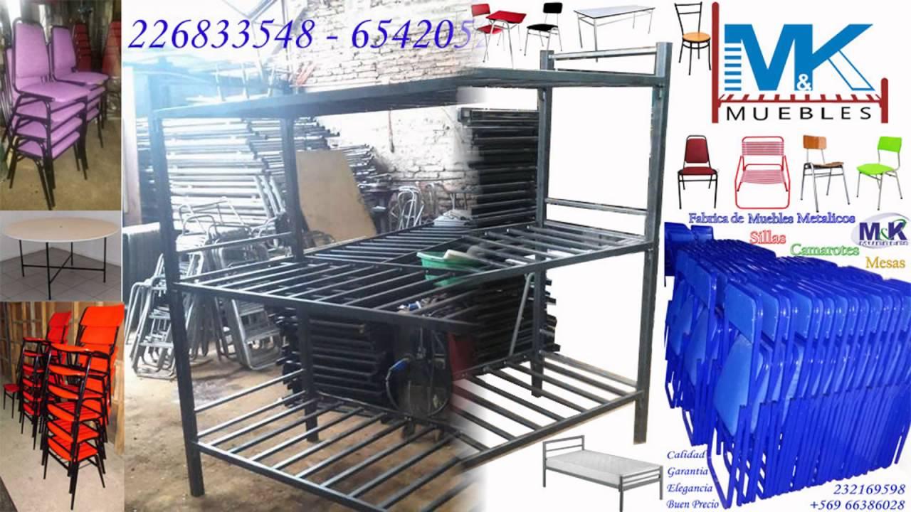 Camarotes metalicos fabrica de muebles 226833548 for Fabrica de muebles metalicos