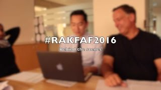 4th Annual Ras Al Khaimah Fine Arts Festival (2016): Behind The Scenes