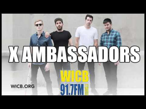"""X Ambassadors Interview - 92 WICB"""