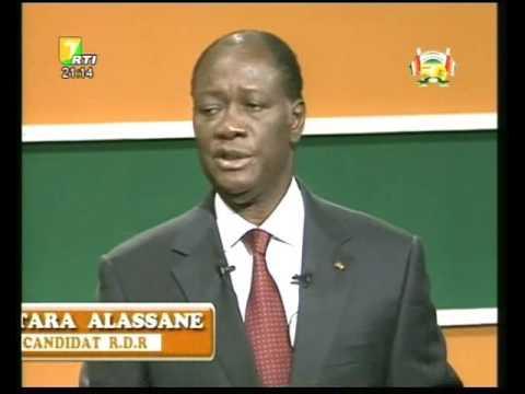 Côte d'Ivoire; Présidentielles 2010: Face à Face Laurent GBAGBO et Alassane OUATTARA Partie 1