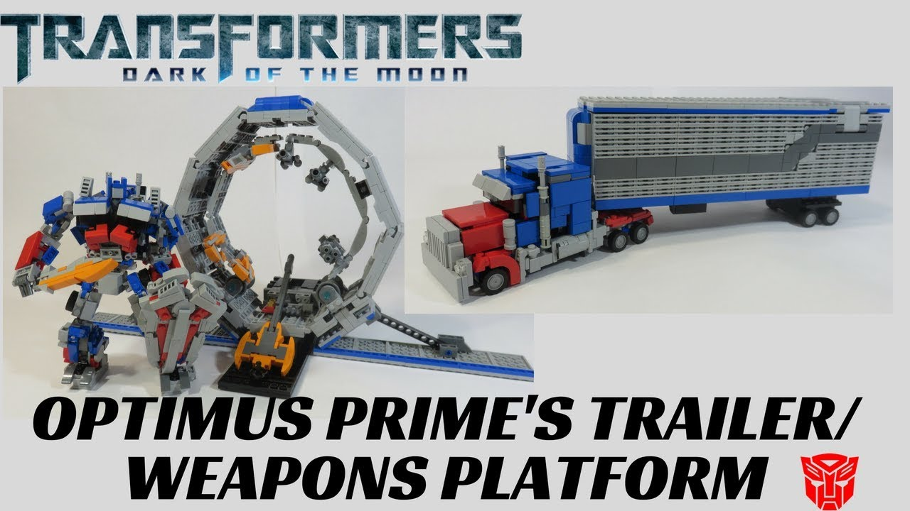 Lego Transformers Dark Of The Moon- Optimus Prime's