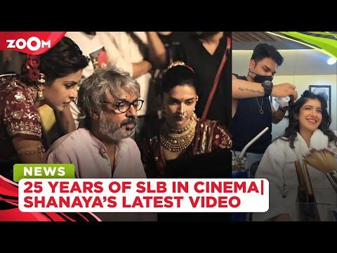 Deepika-Ranveer, Salman celebrate SLB's 25 years in cinema | Shanaya shares struggles of an actor