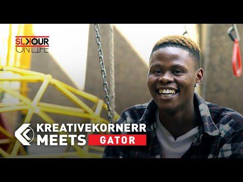 KreativeKornerr Meets Gator