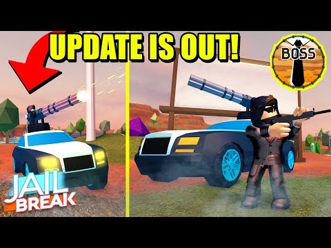 THE *NEW* JAILBREAK UPDATE IS OUT NOW! [CRIME BOSS Gameplay!]