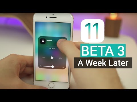 iOS 11 Beta 3 - A Week Later | More New Features, Changes & Review