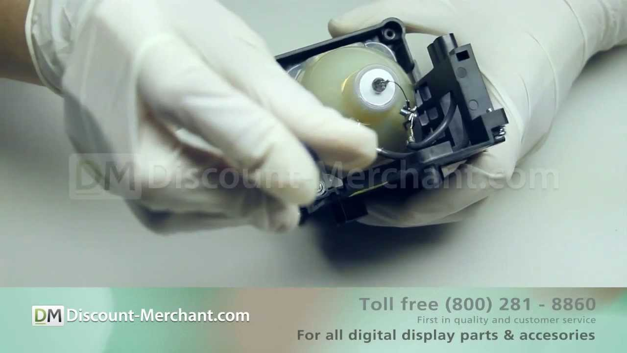 Sony LMP-H160 Projector Lamp Replacement Video Guide - YouTube
