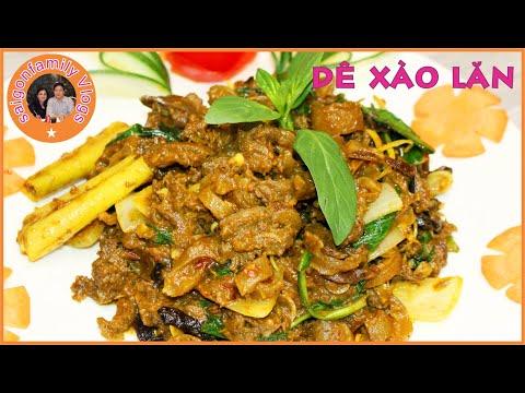 Dê Xào Lăn   Cách Làm Dê Xào Lăn Thơm Ngon Không Bị Dai   Vietnam Food Curry Goat