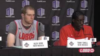 2013 Mountain West Basketball Tournament | Opening Statement & Players: Post-SDSU Press Conference