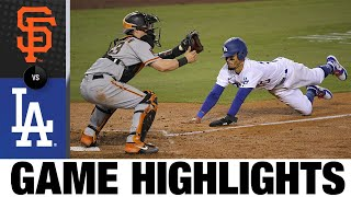 Enrique Hernández leads Dodgers to Opening Day win | Giants-Dodgers Game Highlights 7/23/20