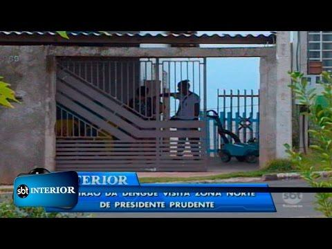 Presidente Prudente realiza mutirão contra a dengue na zona norte da cidade