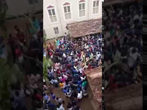 St Joseph's college trichy pongal celebration