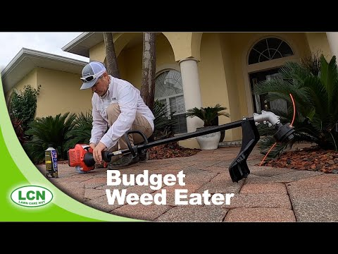 Testing The Cheapest String Trimmer From WalMart | Budget Weed Eater Review