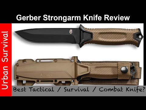 Gerber Strongarm Knife Review – Best Tactical / Combat / Survival Knife?