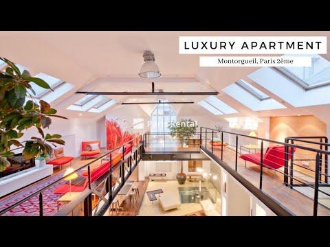 Luxury Paris Apartment Tour | Montorgueil | PARISRENTAL