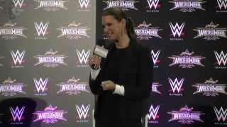 WWE Stephanie McMmahon Discusses Friendship With Andre The Giant