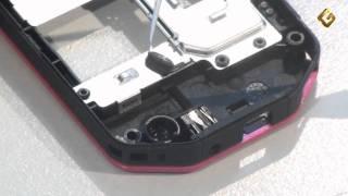 Ремонт Nokia 7500 Prism - замена микрофона в телефоне