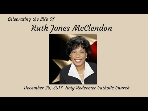 Celebrating the life of Ruth Jones McClendon