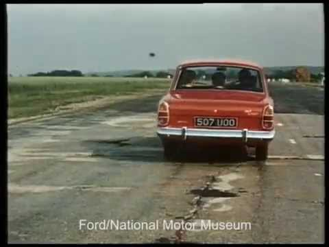 Jim Clark Drives Corsair - 1963